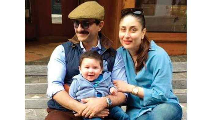 taimur's birthday photos